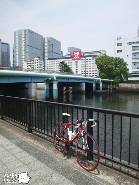 自転車の 自転車 赤羽橋 : imakenpressブログ » 仕事+都心 ...